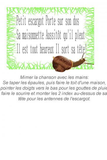 Petit escargot 1